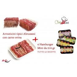 Arrosticini Marfisi + 4 MINI Hamburger